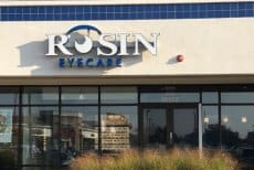Rosin Eyecare Orland Park Office